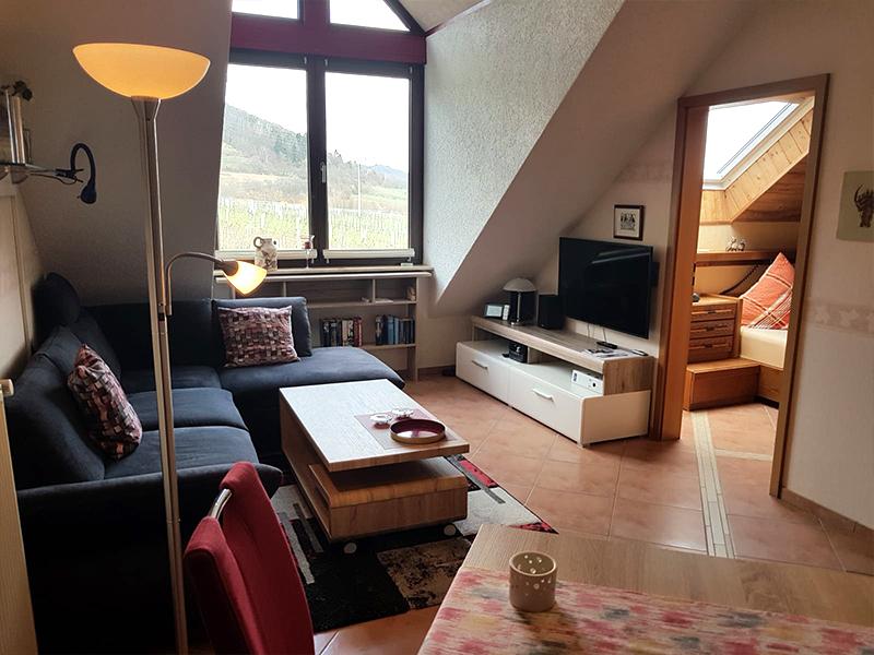 Wohnungen der ferienwohnung hohl in st martin 60 qm for Wohnzimmer 80 qm